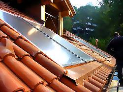 Realizzazione impianti a pannelli solari termici per for Installazione di condotte idriche in rame